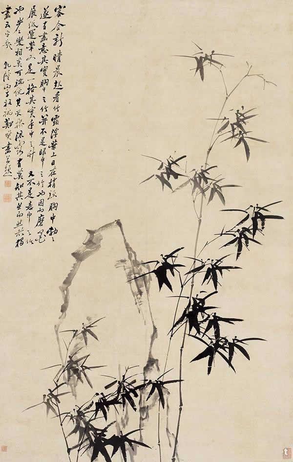 郑燮《竹石图》