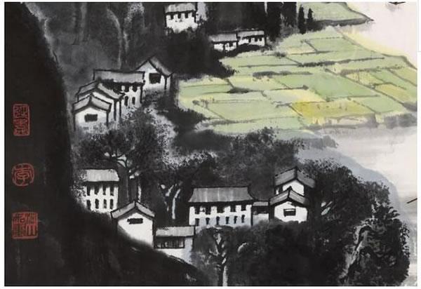 漓江胜景图 (局部)