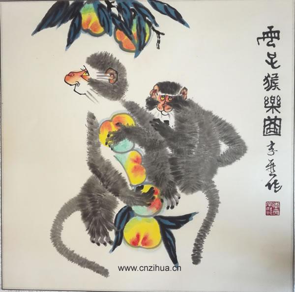 李燕国画作品