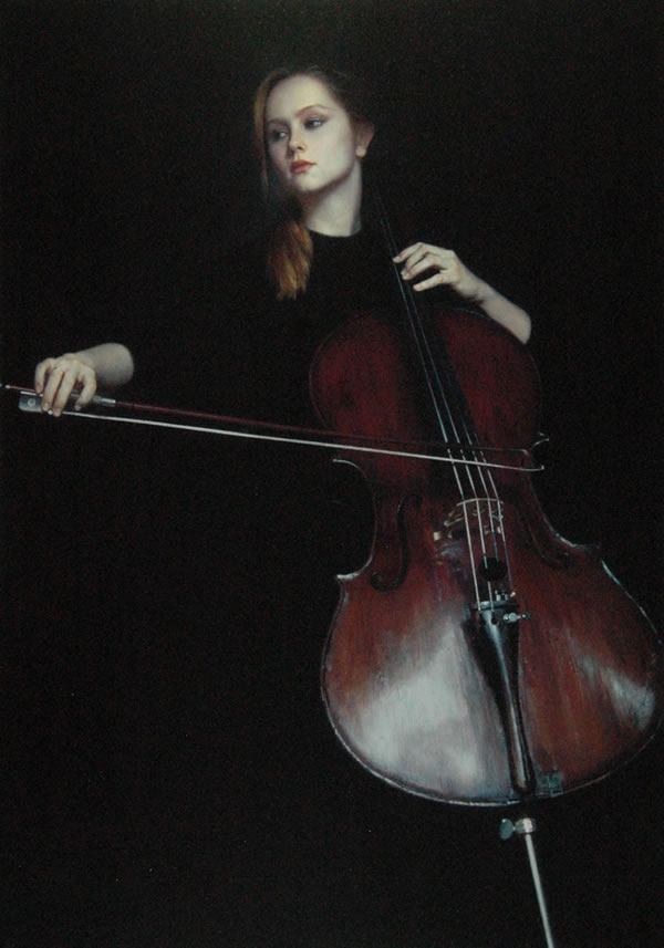 陈逸飞大提琴手