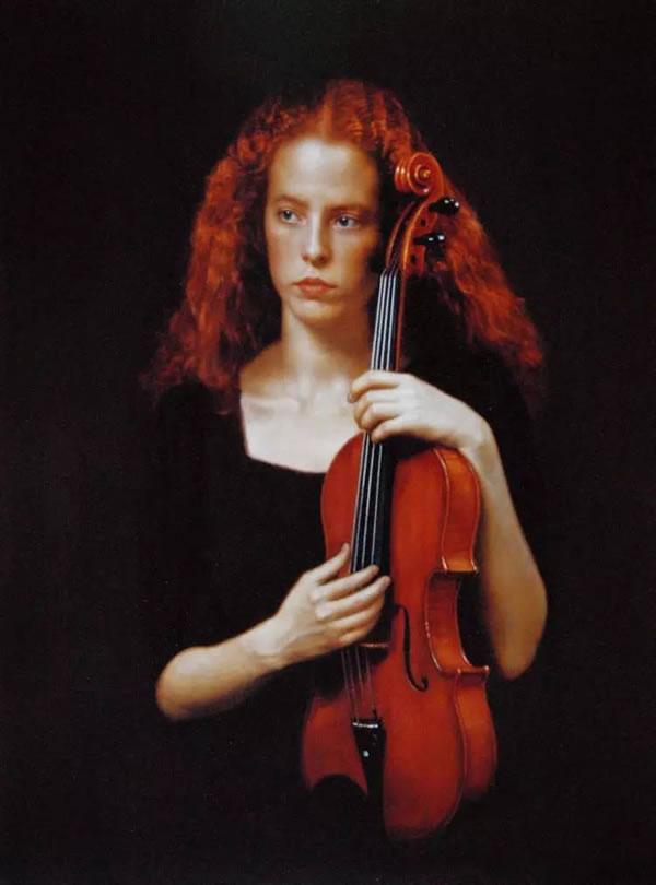 陈逸飞 中提琴手
