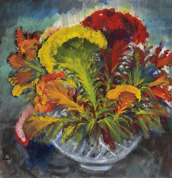 《鸡冠花》
