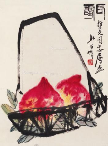 娄师白字画-2