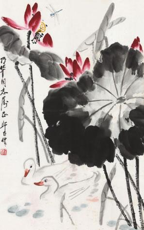 娄师白字画-7