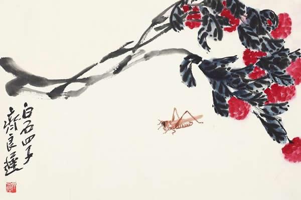 《荔枝草虫》