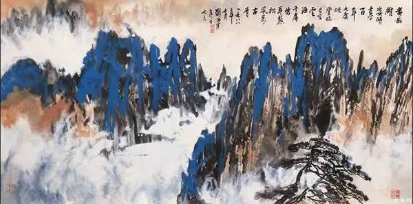 刘海粟绘画作品
