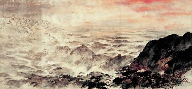 江山如此多娇横幅