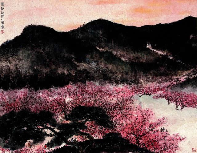 春到梅花山