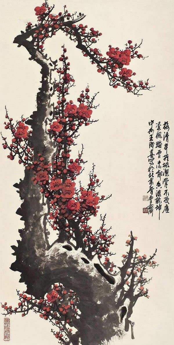 王成喜 清香只把春来报