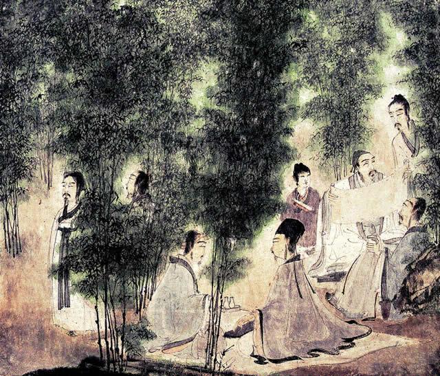 竹林七贤图