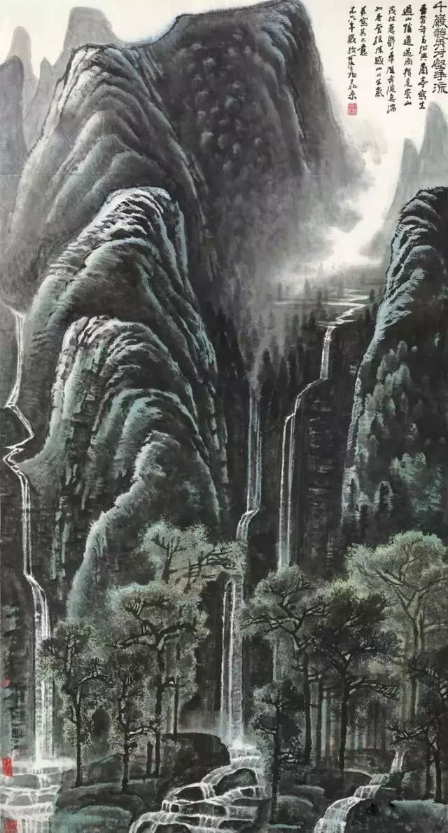 千岩竞秀万壑争流