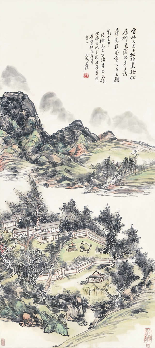 黄宾虹《多荫书屋图》