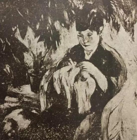 吴大羽1929年作品《春》
