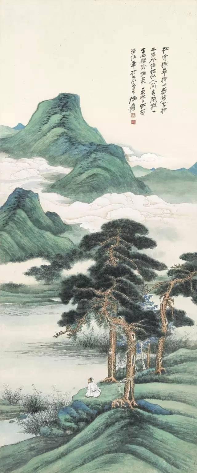 1409 1947年作 松云碧翠
