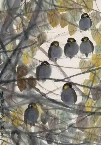 林风眠《丛林小鸟》