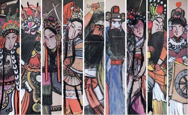 季平《传统京剧汇演 》