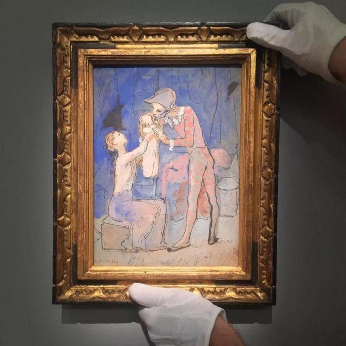 巴布罗 · 毕加索《丑角之家》