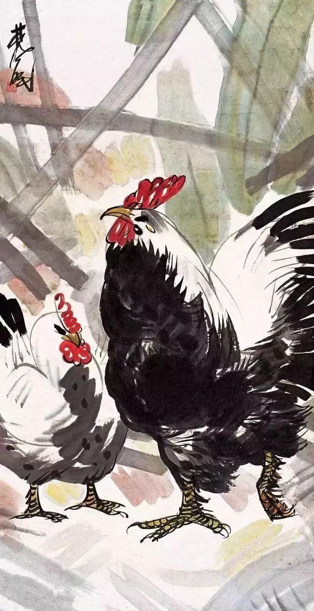 林风眠 双鸡图 280万