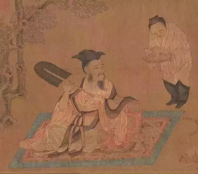 唐代孙位 《高逸图》—阮籍