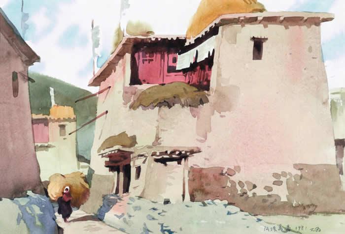 马尔康藏居 28 40 1981年