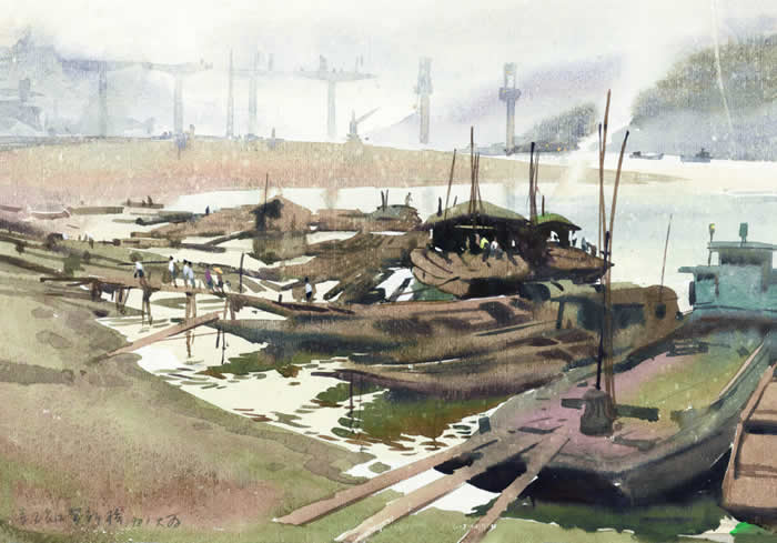 万里长江架新桥 28 40 1981年