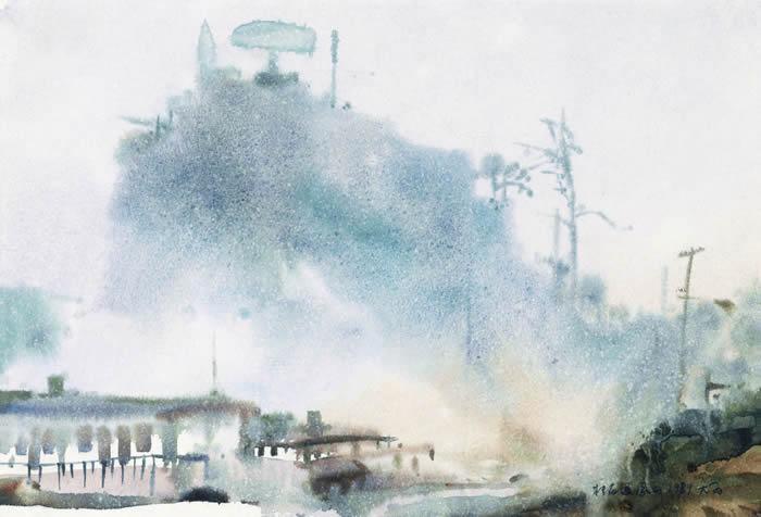 微雨凤凰山 28 40 1979年