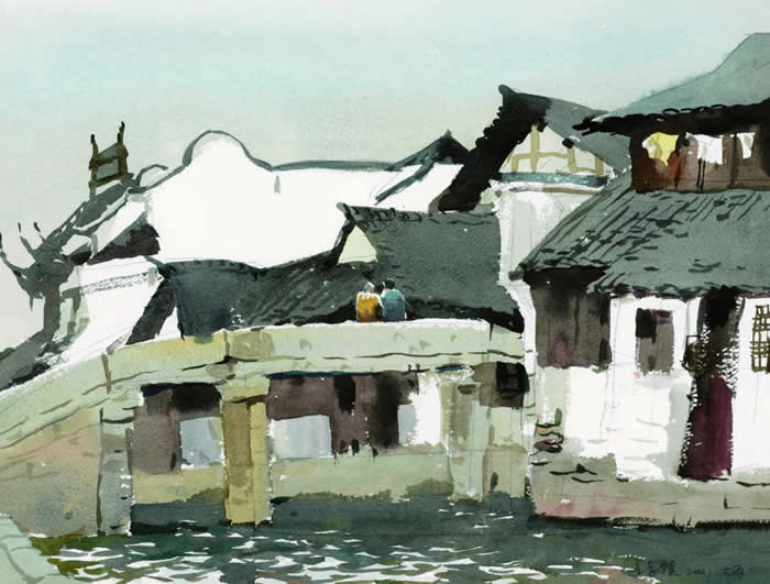 乌镇石桥 31 41 2001年