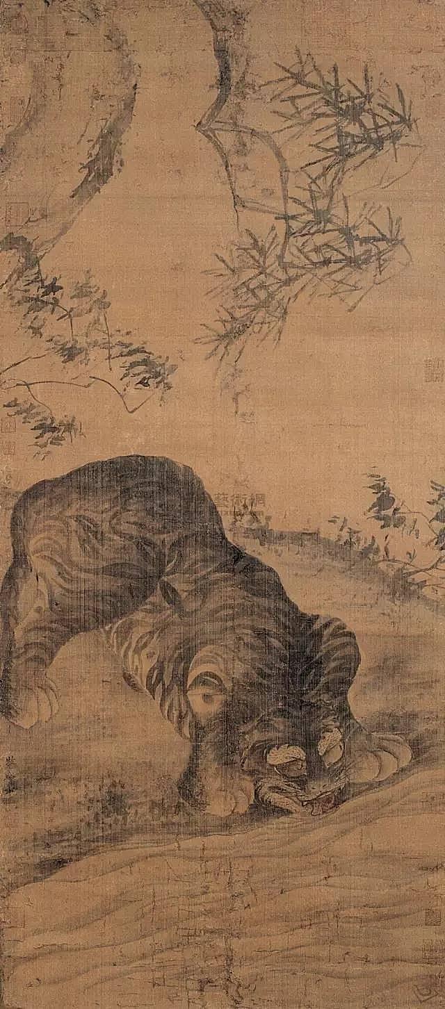 《龙虎图》 京都大德寺藏