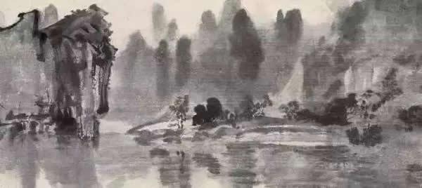 徐悲鸿 漓江山水 1937年作