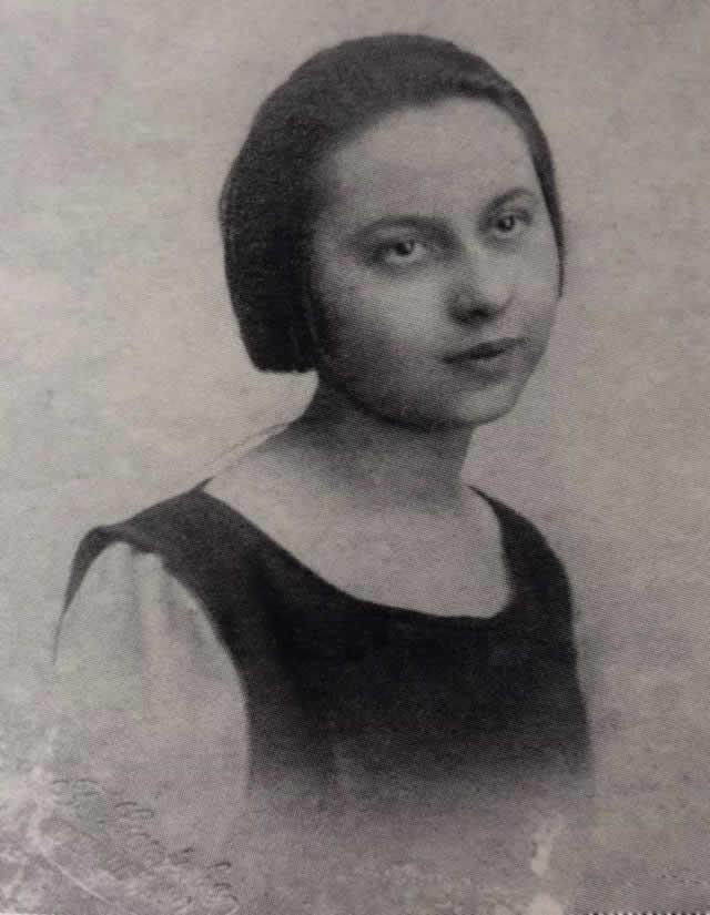 林风眠第一任妻子艾丽丝·冯·罗达