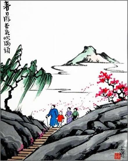 丰子恺漫画欣赏_丰子恺的儿童漫画作品-名人字画网