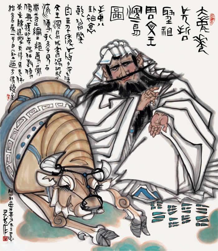 文王演易图