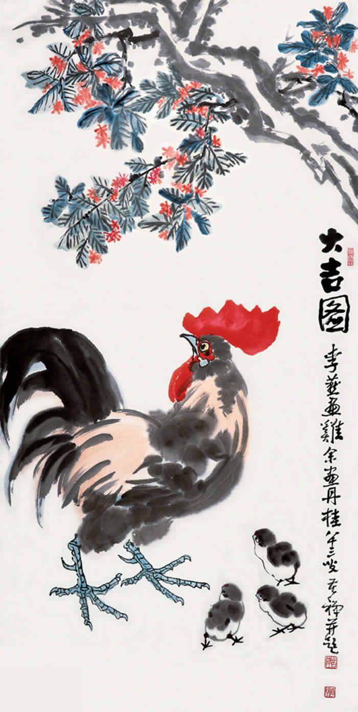 金桂大吉图