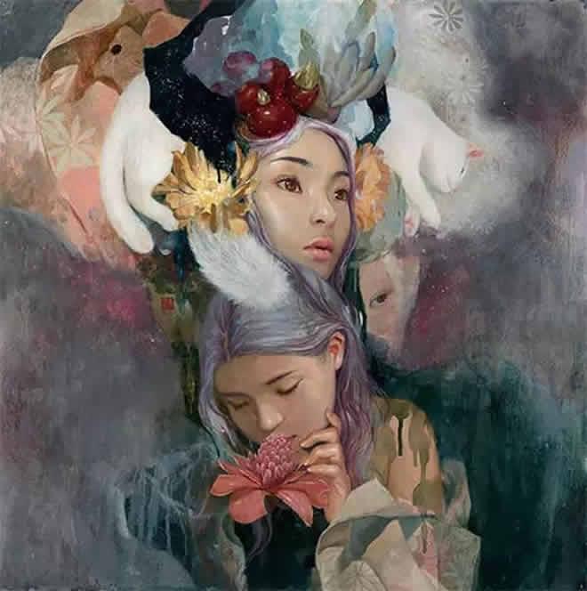 韩国女画家soey.milk绘画作品欣赏