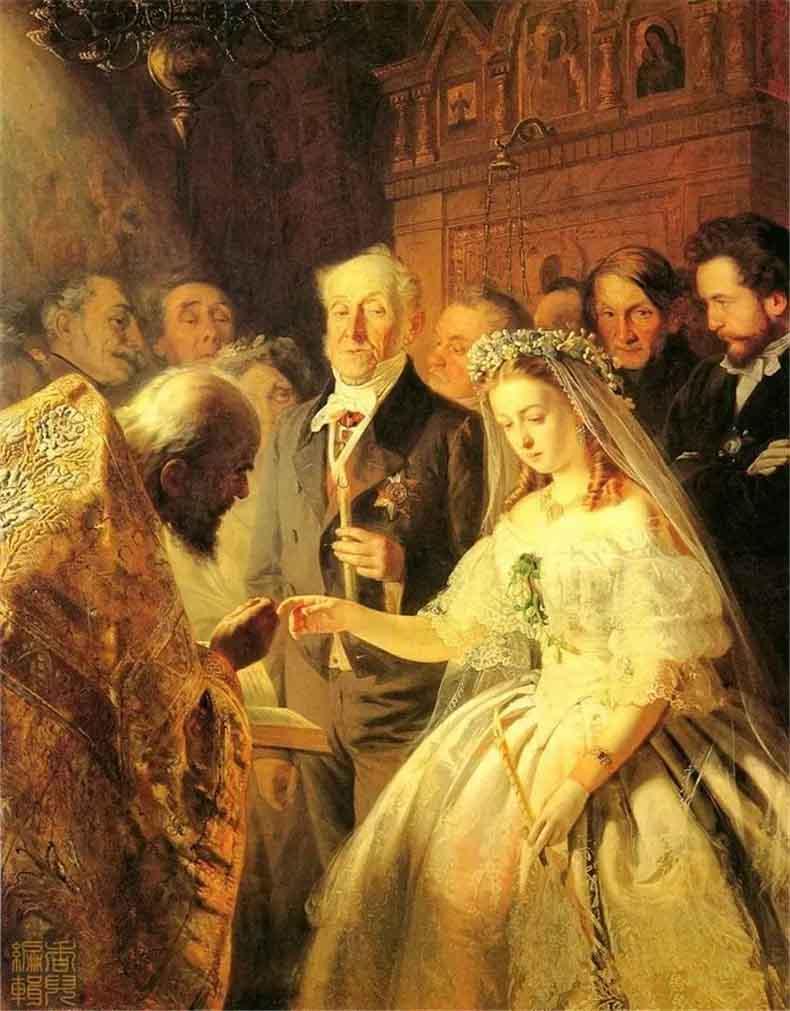 普基寥夫《不相称的婚姻》