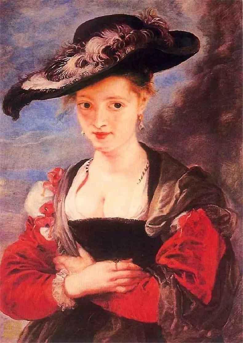 《海伦娜.弗尔曼肖像》