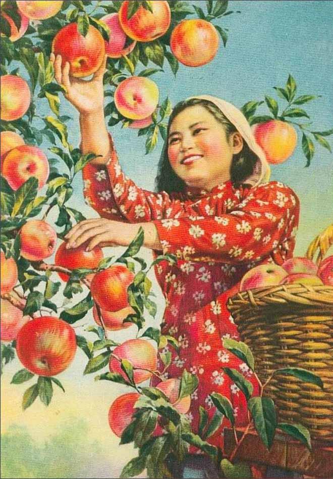 采苹果(魏瀛洲作)