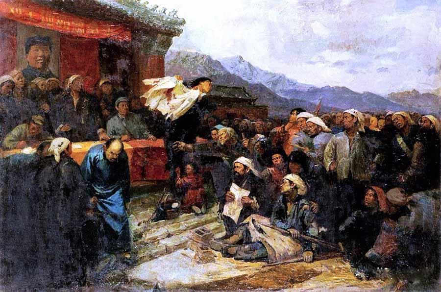 王式廓《血衣》油画稿 中国美术馆藏