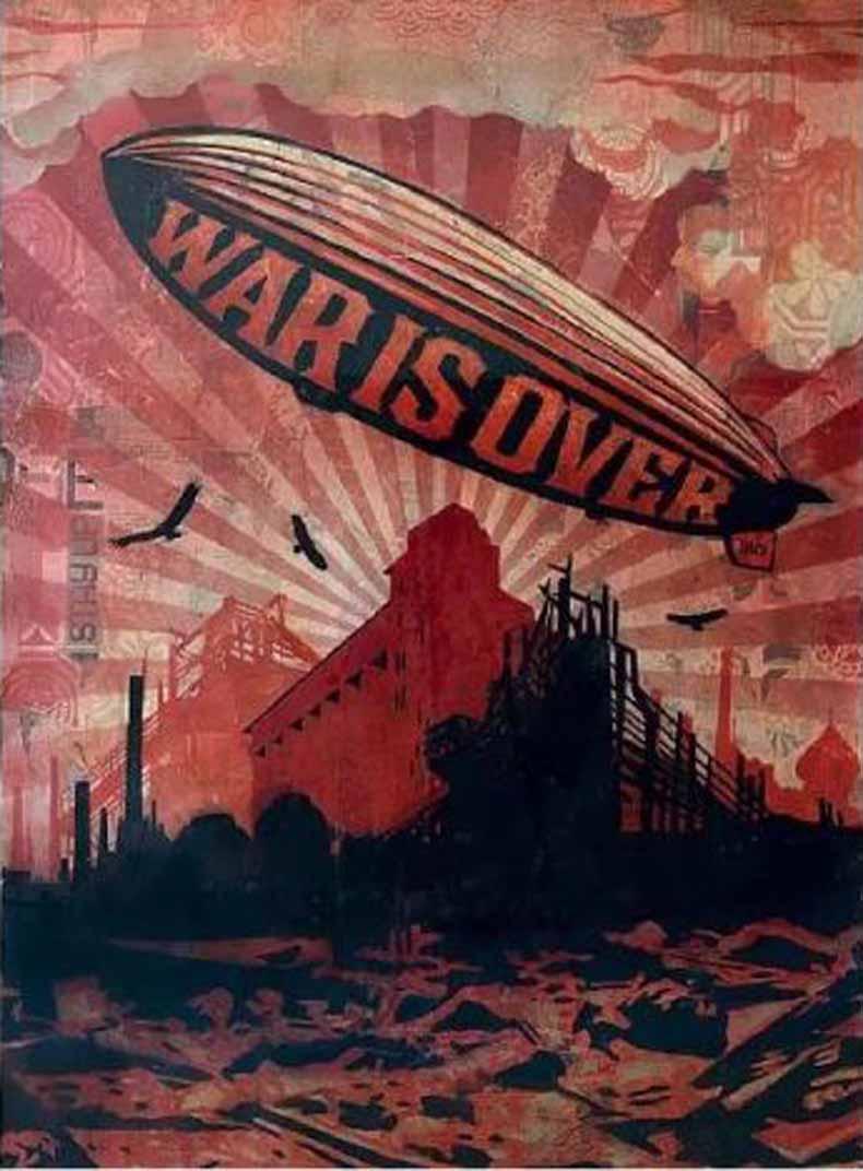 谢帕德·费瑞 War is Over, 2007