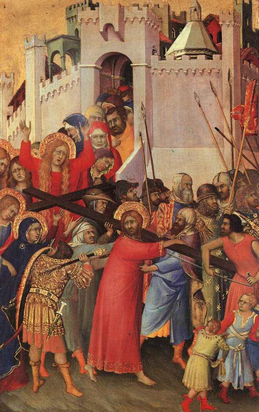 《基督背负十字架》