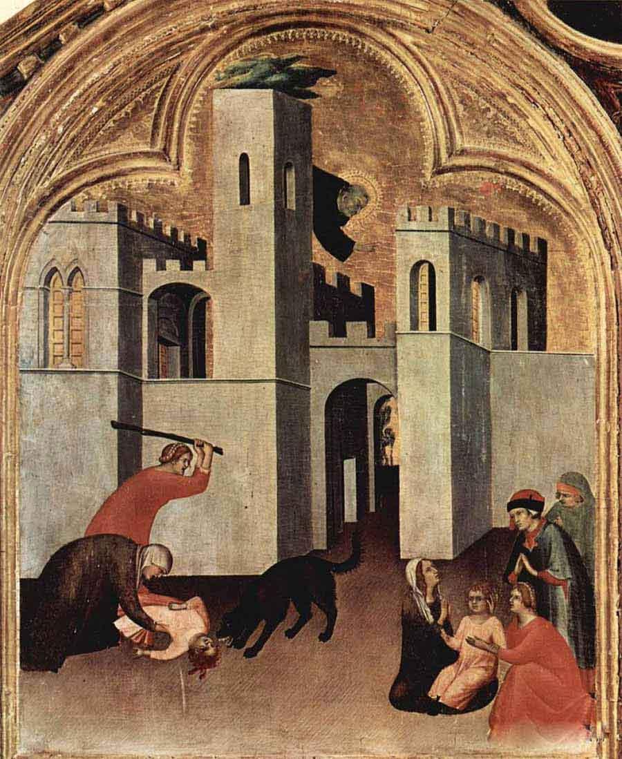 西蒙·马丁尼高清作品《奥古斯丁的奇迹拯救和拯救了这个孩子》