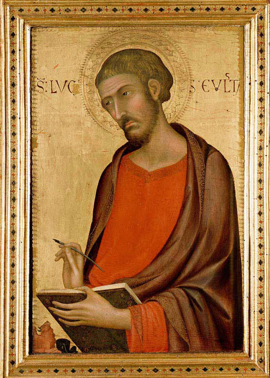 西蒙·马丁尼高清作品《圣卢克》