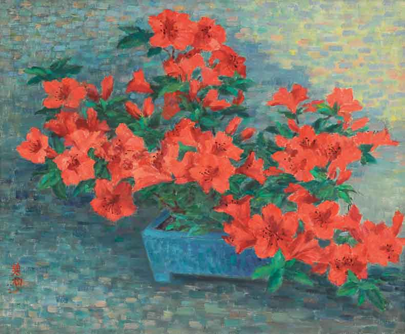 《夏娟》 油彩 画布 1982年 50×61cm