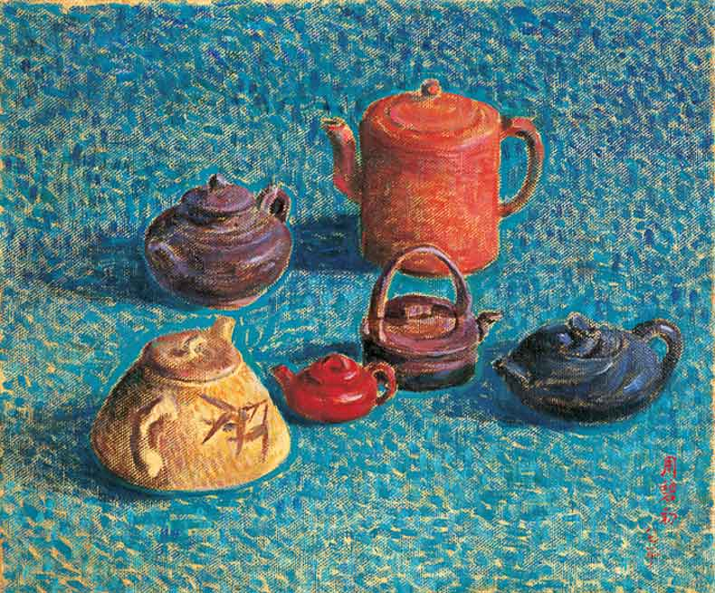 《静物》 油彩 画布 1982年 50×61cm