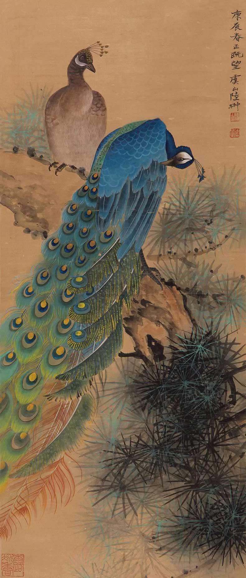 1940年作 孔雀
