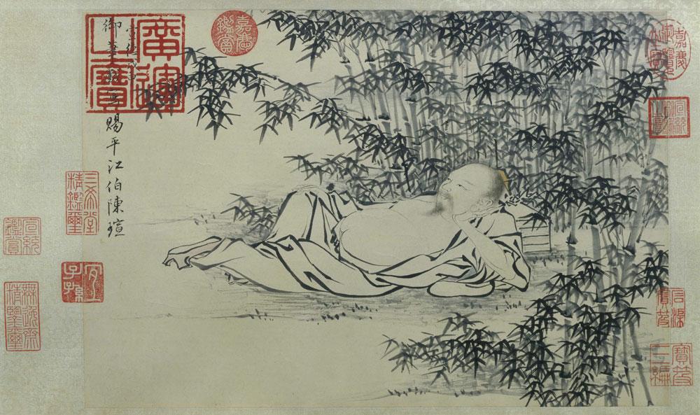 朱瞻基绘画作品欣赏