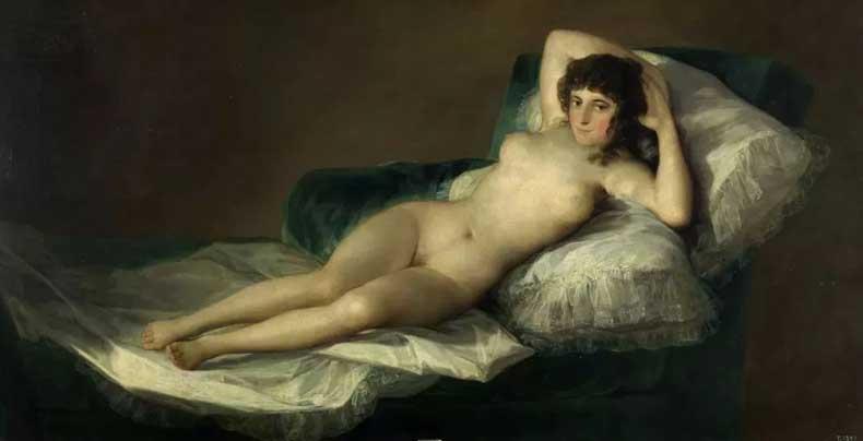 戈雅《裸体的玛哈》